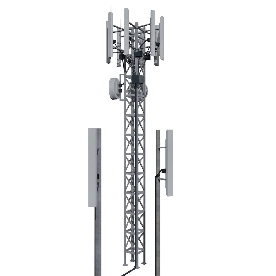 Base Station M-01 royalty-free 3d model - Preview no. 5