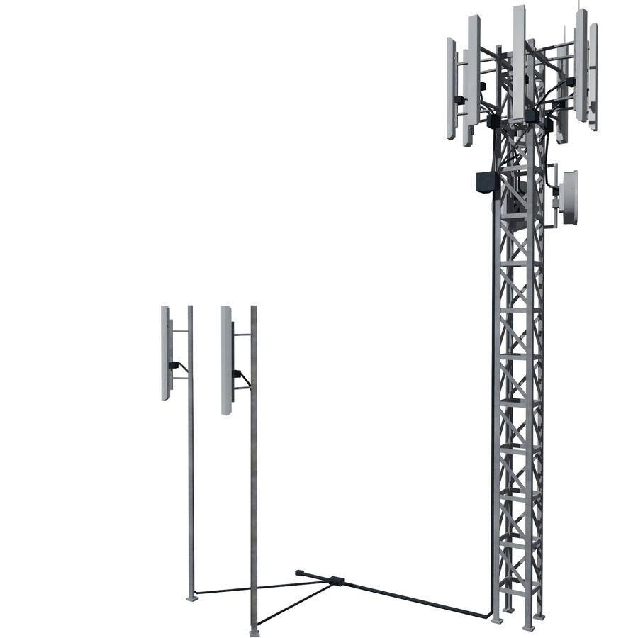 Base Station M-01 royalty-free 3d model - Preview no. 1
