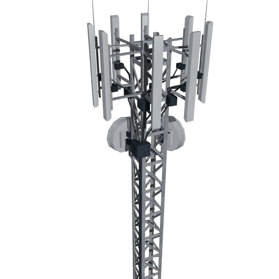 Base Station M-01 royalty-free 3d model - Preview no. 3