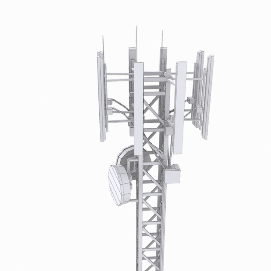 Base Station M-01 royalty-free 3d model - Preview no. 8