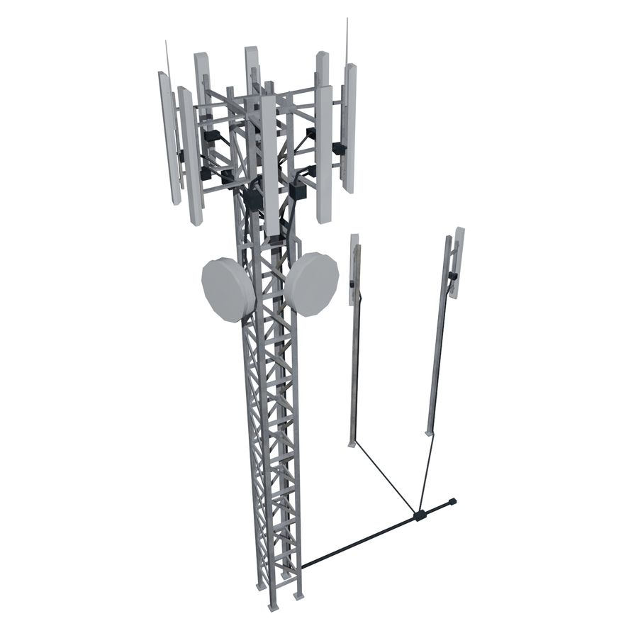 Base Station M-01 royalty-free 3d model - Preview no. 2