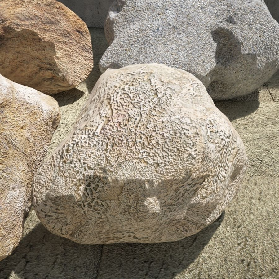 Rocks Pack royalty-free 3d model - Preview no. 5