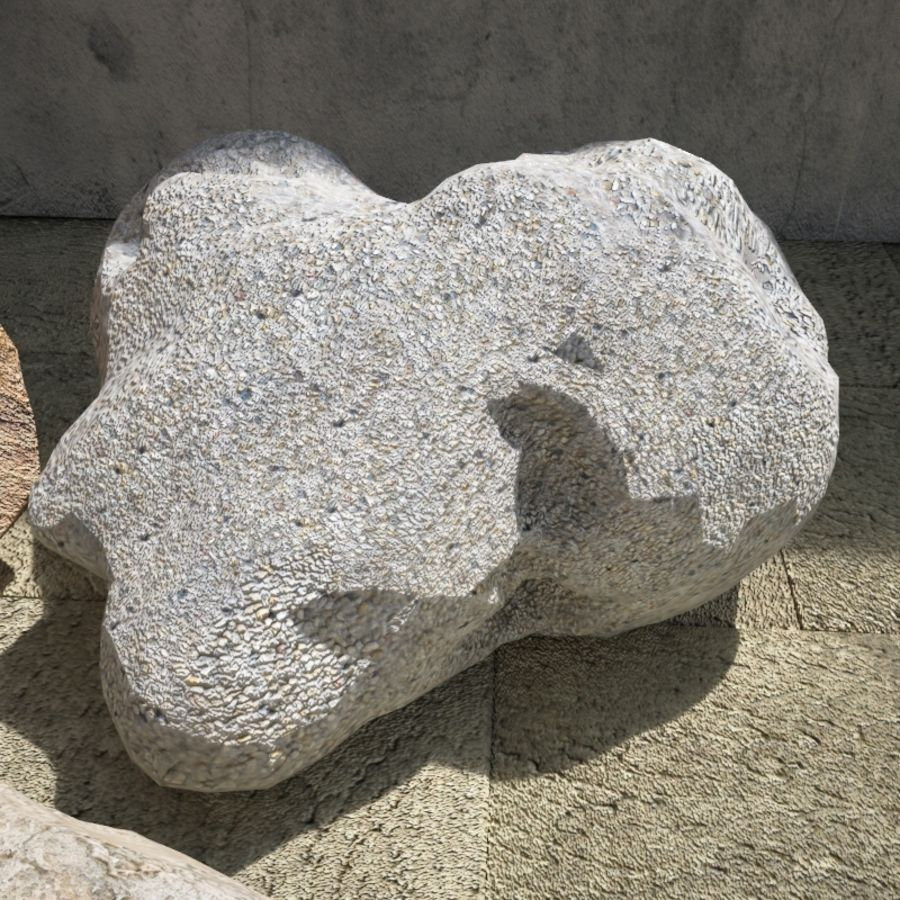 Rocks Pack royalty-free 3d model - Preview no. 8