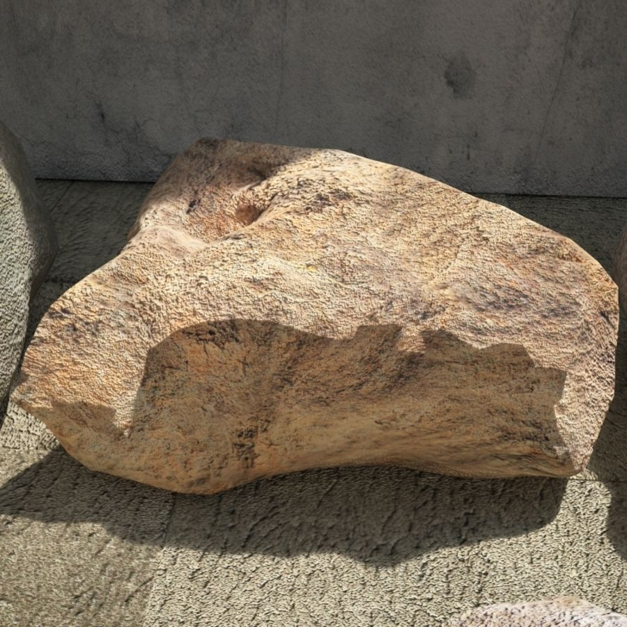 Rocks Pack royalty-free 3d model - Preview no. 7