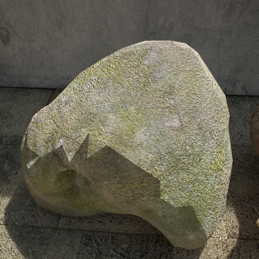 Rocks Pack royalty-free 3d model - Preview no. 6