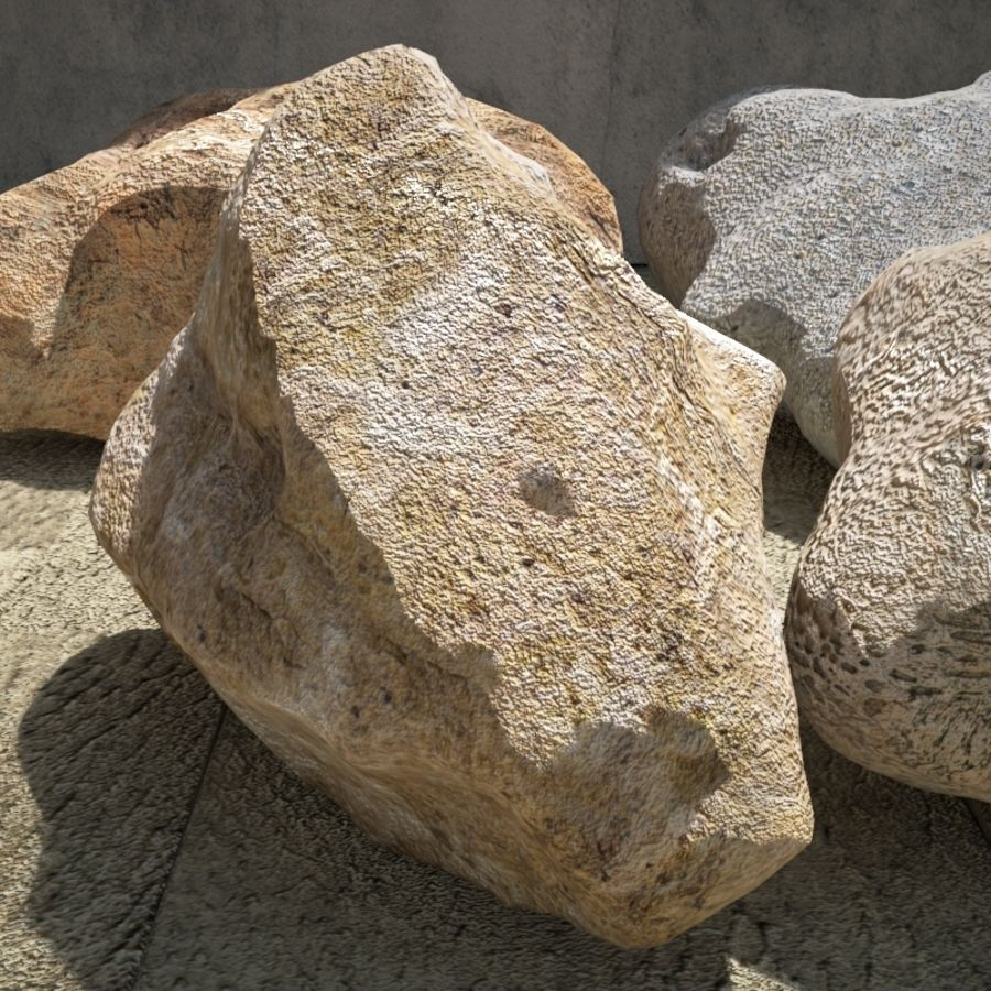Rocks Pack royalty-free 3d model - Preview no. 4