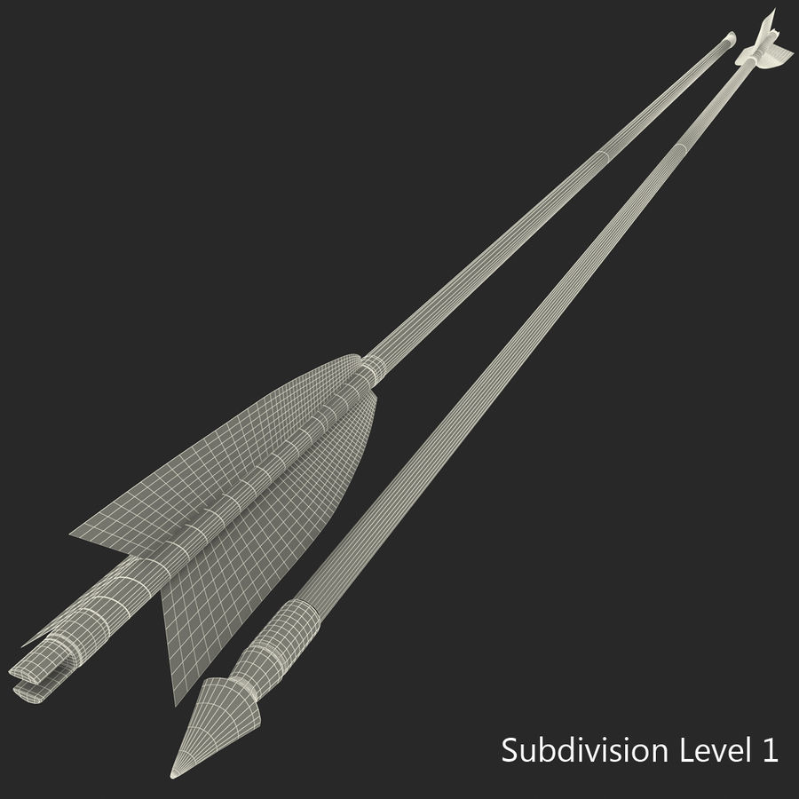 Arrow royalty-free 3d model - Preview no. 19