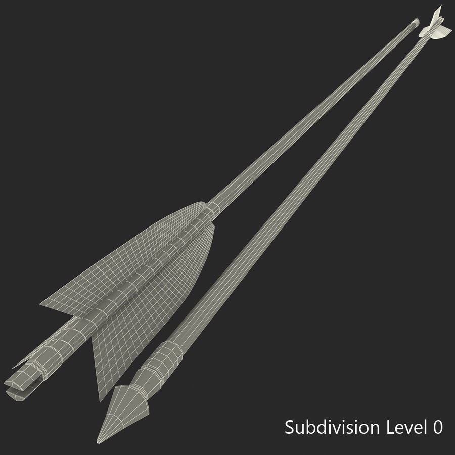 Arrow royalty-free 3d model - Preview no. 20