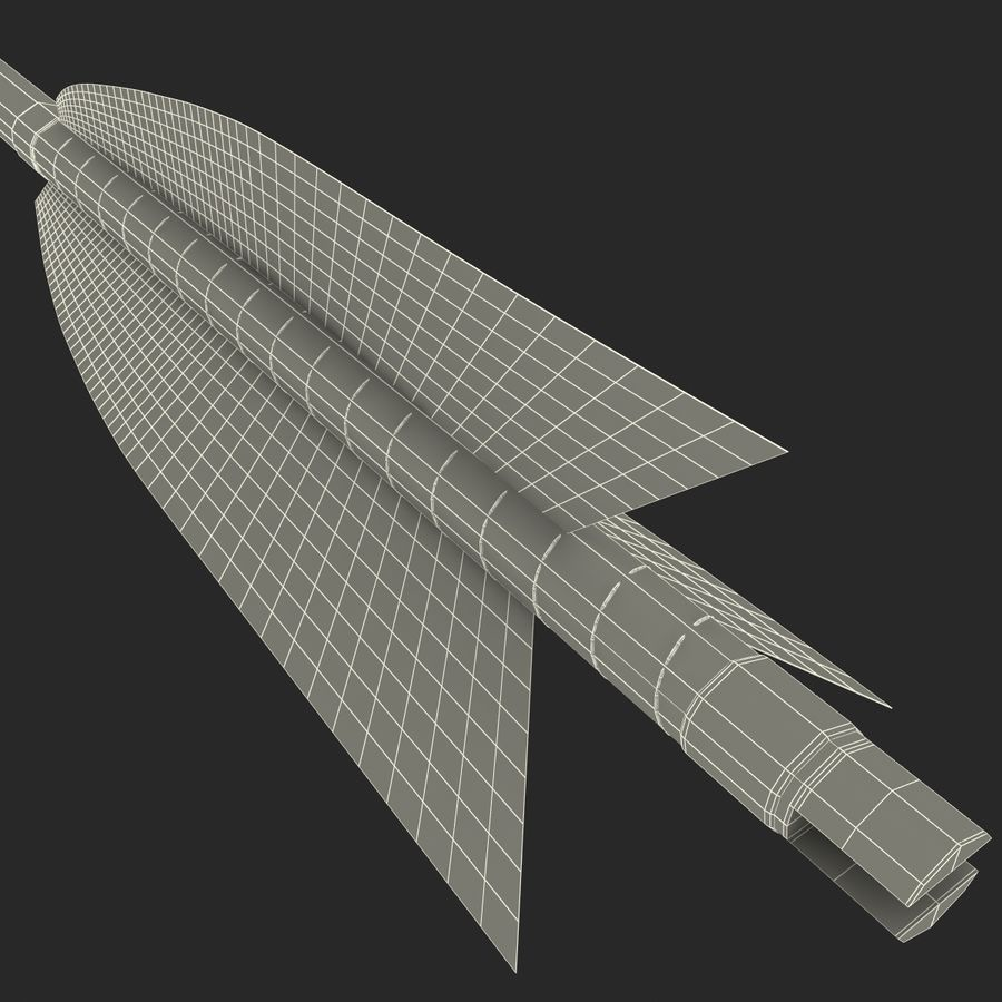 Arrow royalty-free 3d model - Preview no. 16