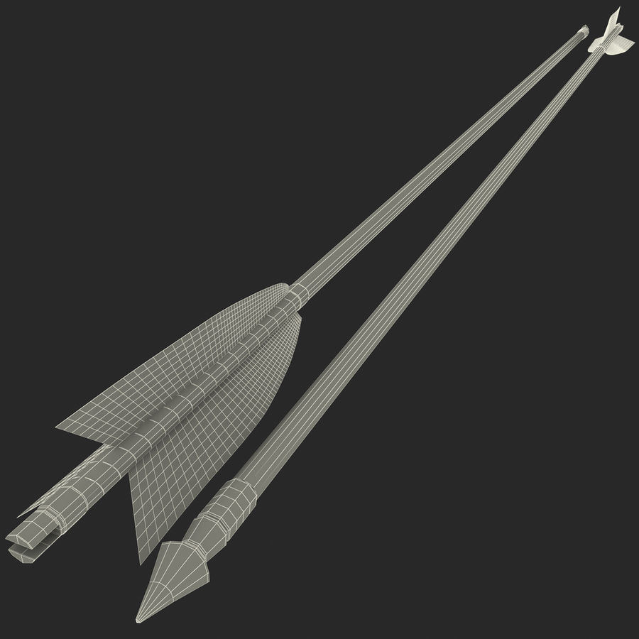 Arrow royalty-free 3d model - Preview no. 12