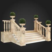 Staircase 012 3d model