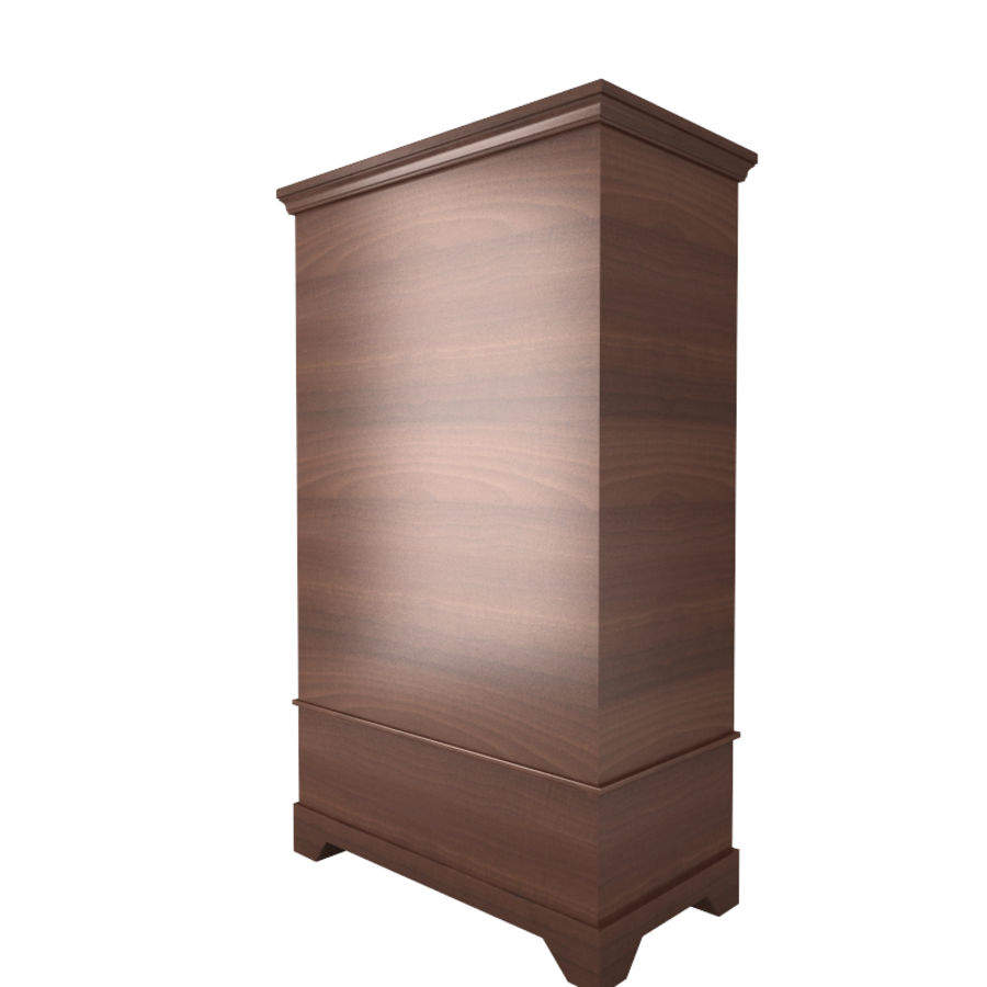 furniture 11 Armoire Cabinet royalty-free 3d model - Preview no. 3