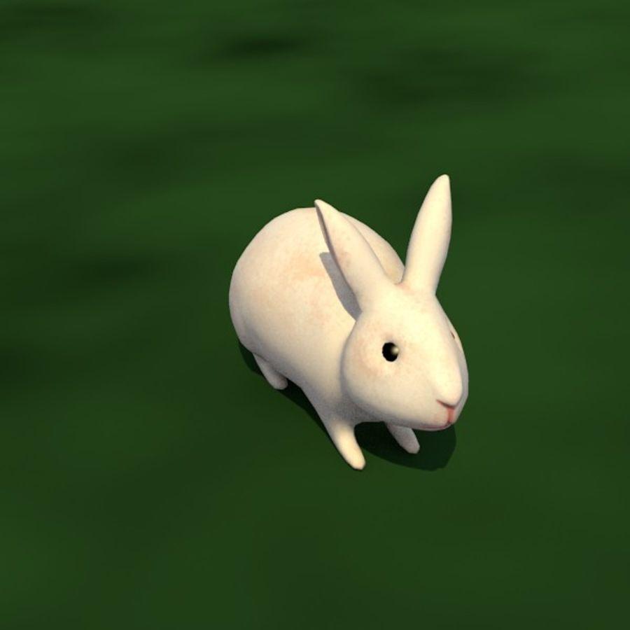 Rabbit royalty-free 3d model - Preview no. 3