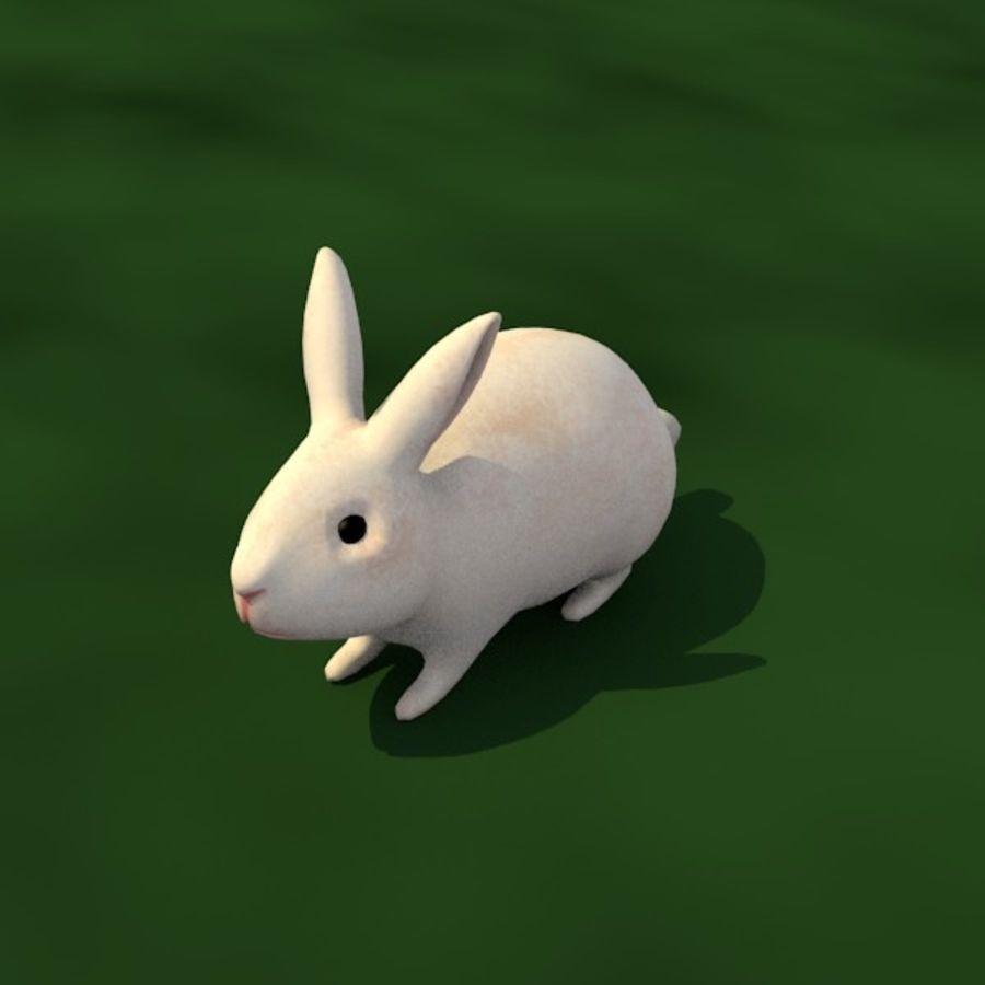 Rabbit royalty-free 3d model - Preview no. 2