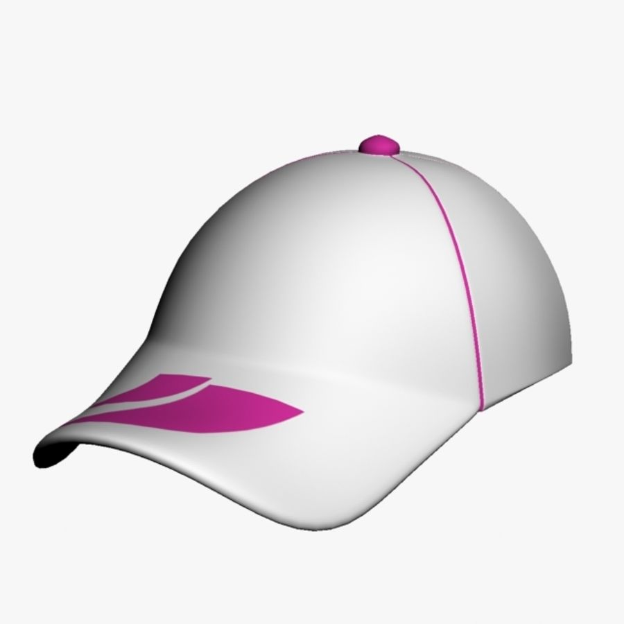 Sports Cap royalty-free 3d model - Preview no. 3