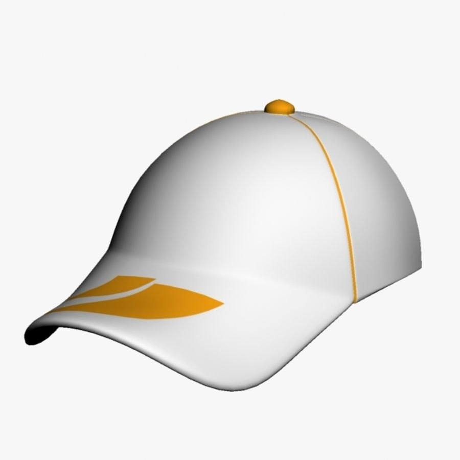 Sports Cap royalty-free 3d model - Preview no. 5