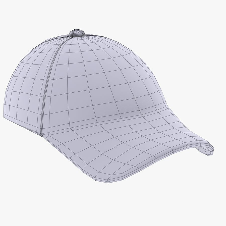 Sports Cap royalty-free 3d model - Preview no. 12