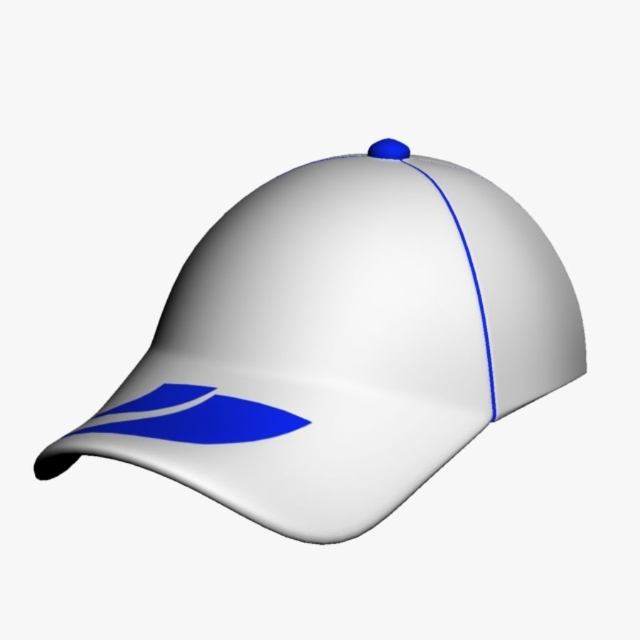 Sports Cap royalty-free 3d model - Preview no. 7