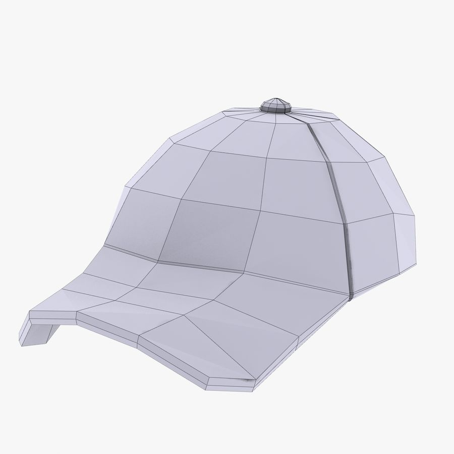 Sports Cap royalty-free 3d model - Preview no. 10
