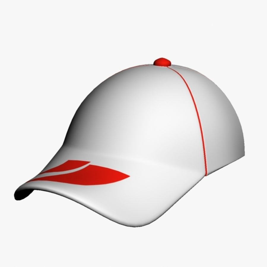 Sports Cap royalty-free 3d model - Preview no. 4