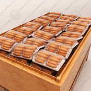 Bread Shelf 3d model