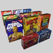 Cereales modelo 3d