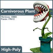 육식 식물 3d model