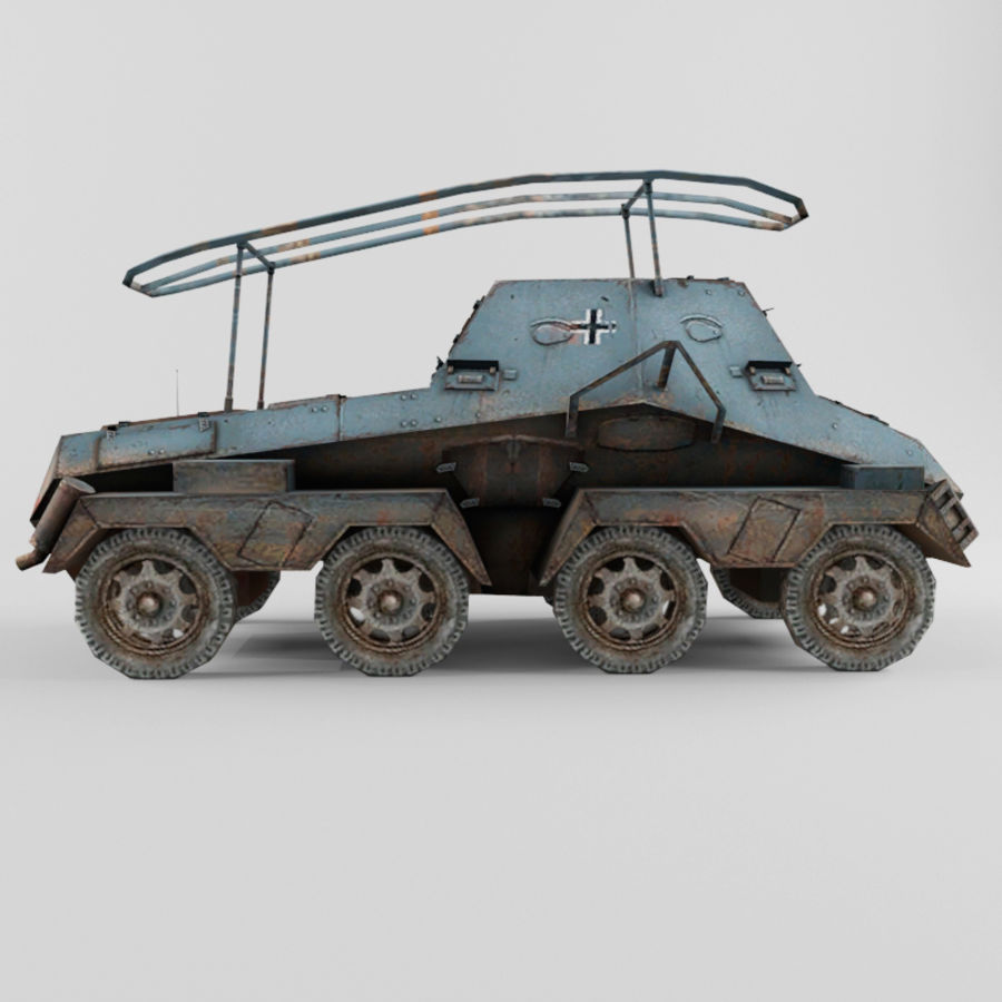 SdKfz 263 royalty-free 3d model - Preview no. 6