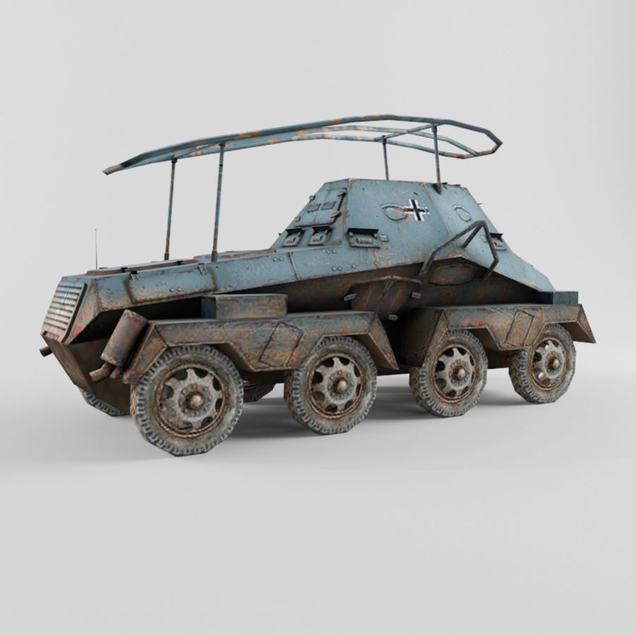 SdKfz 263 royalty-free 3d model - Preview no. 5