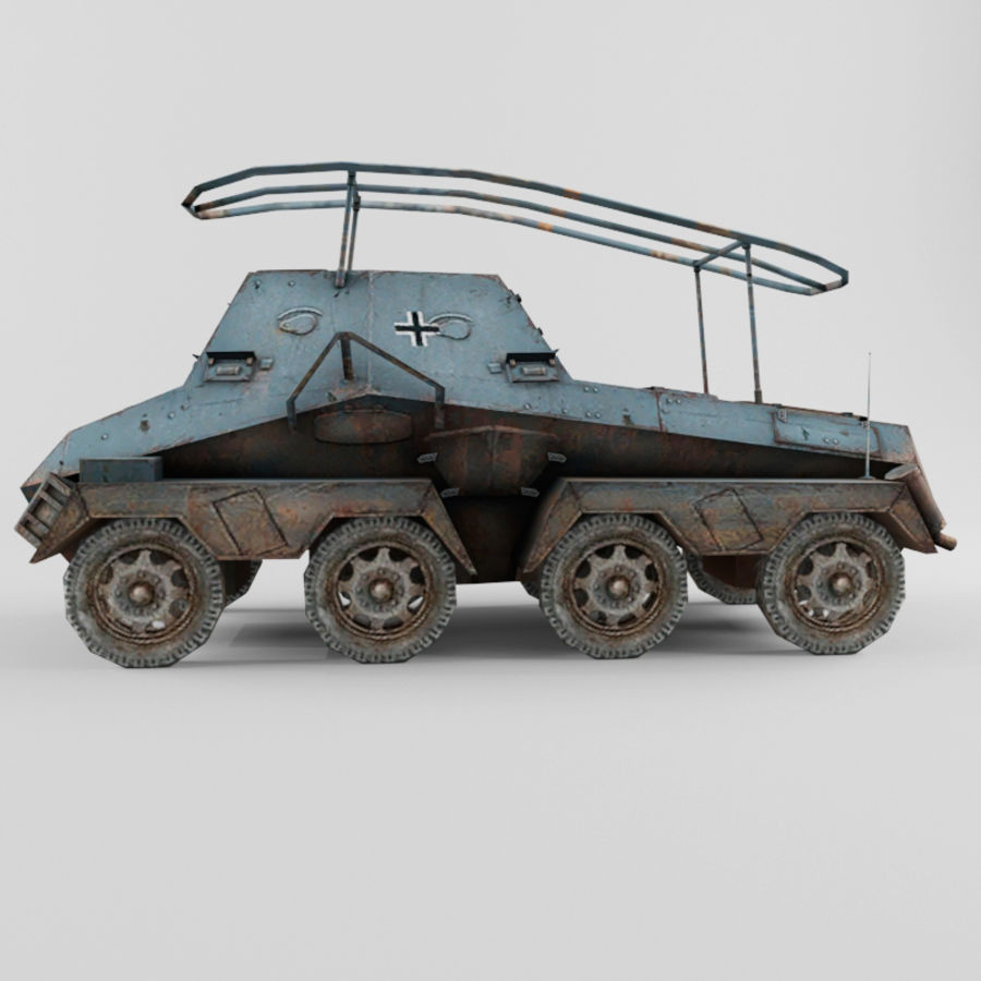 SdKfz 263 royalty-free 3d model - Preview no. 2