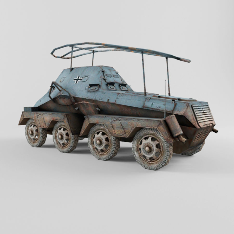 SdKfz 263 royalty-free 3d model - Preview no. 3