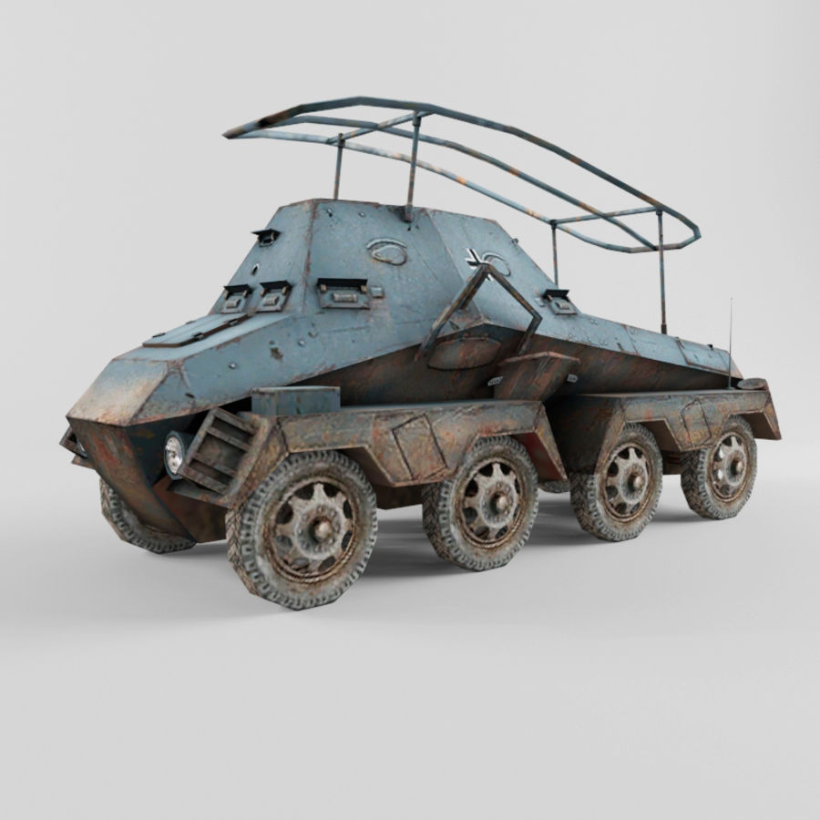 SdKfz 263 royalty-free 3d model - Preview no. 1
