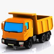Cartoon Truck 1 3d model