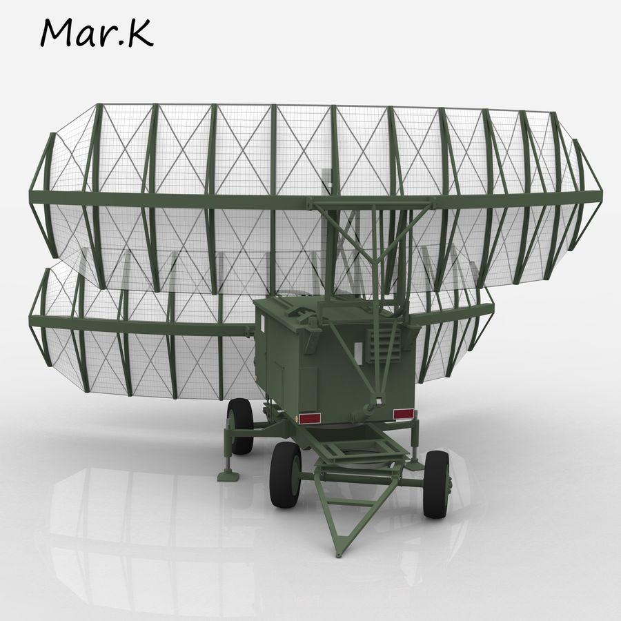 Radar P-37 royalty-free 3d model - Preview no. 4