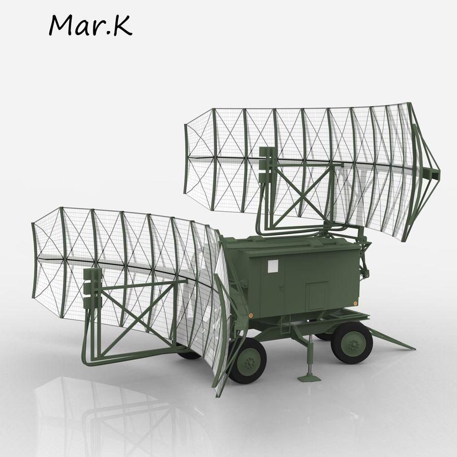 Radar P-37 royalty-free 3d model - Preview no. 9