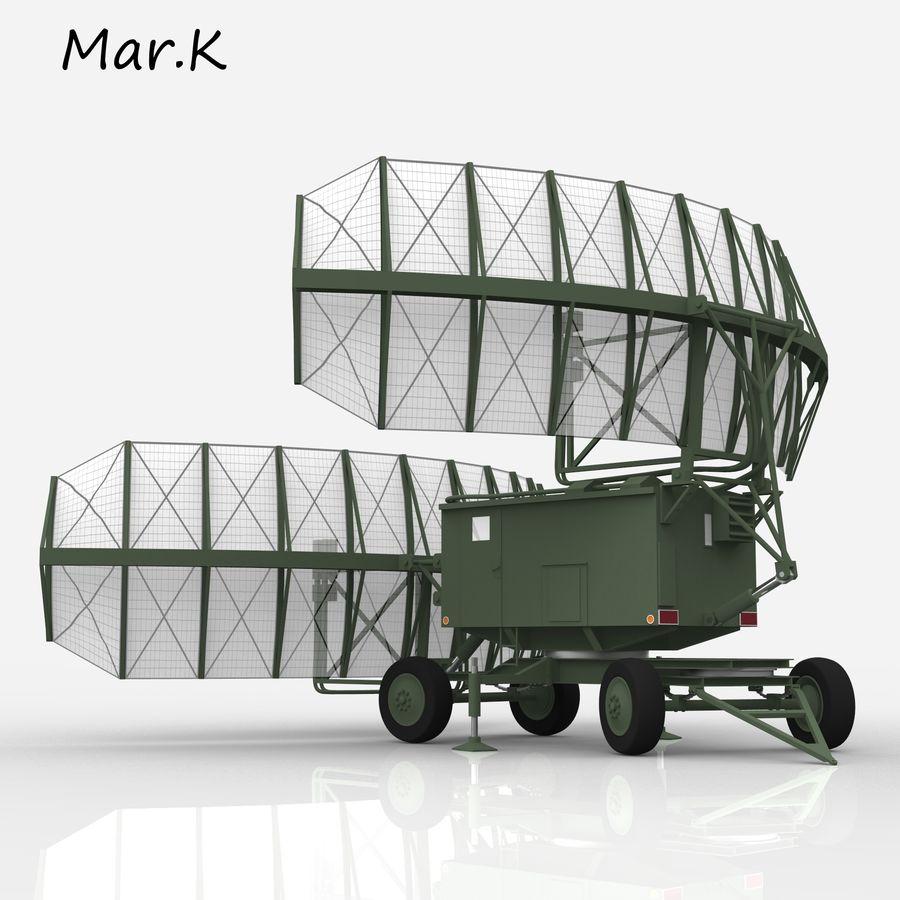 Radar P-37 royalty-free 3d model - Preview no. 10