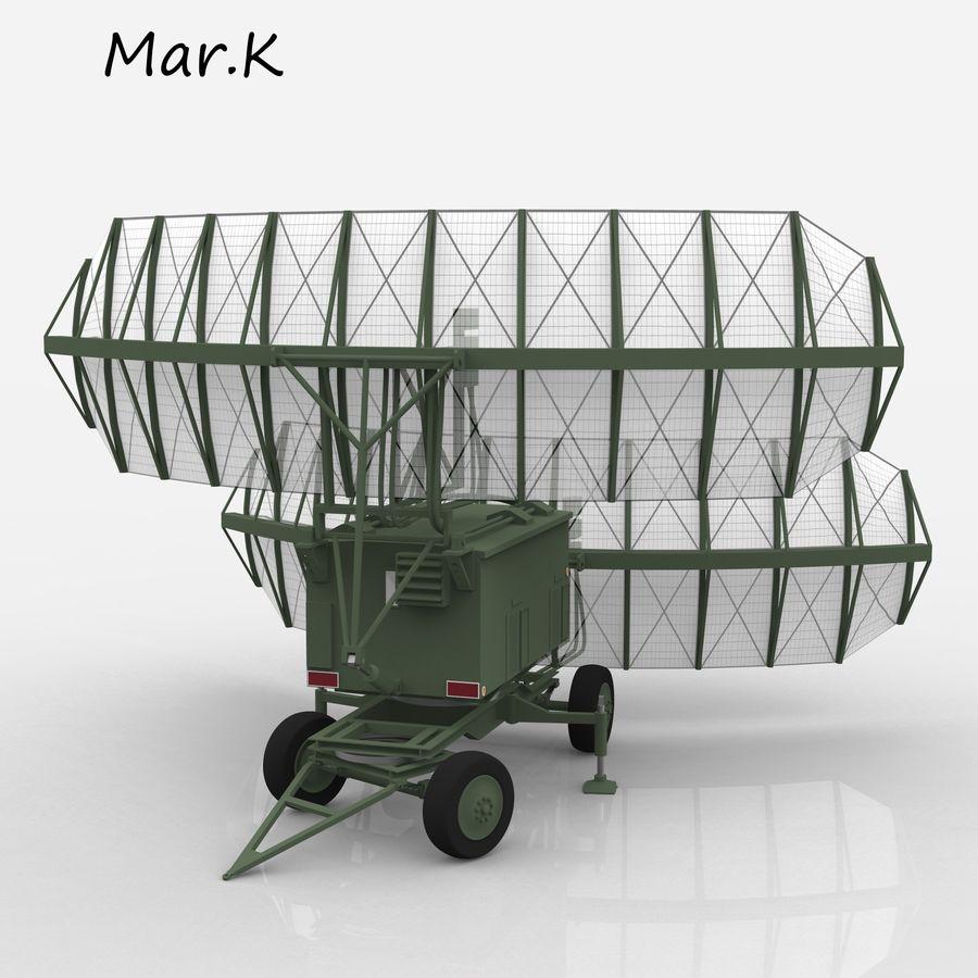 Radar P-37 royalty-free 3d model - Preview no. 5