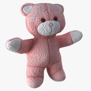 Плюшевый медведь 3d model