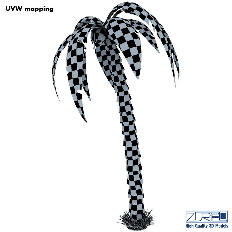Drzewo palmowe royalty-free 3d model - Preview no. 14