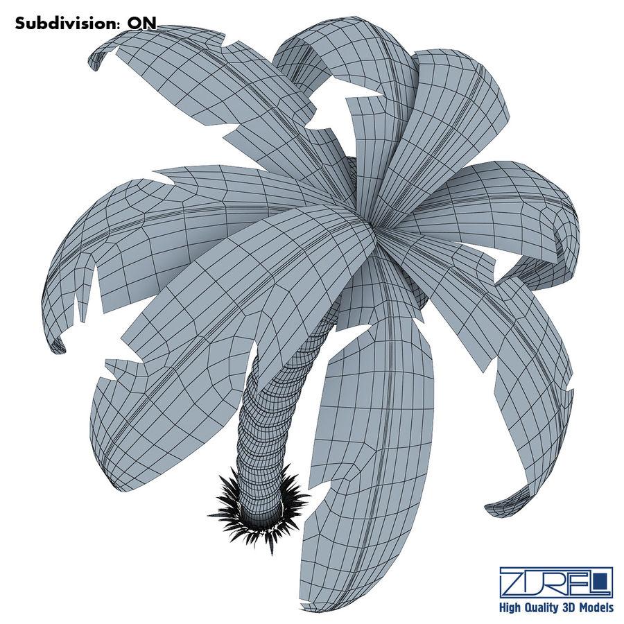 Drzewo palmowe royalty-free 3d model - Preview no. 8
