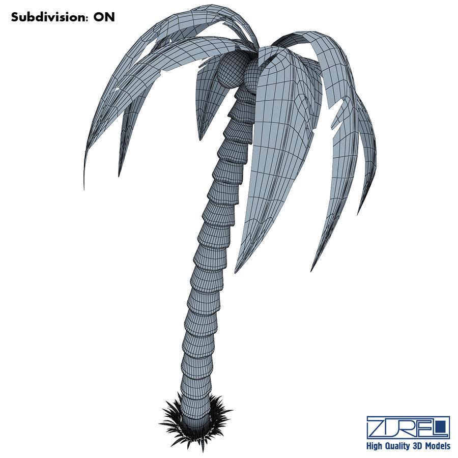 Drzewo palmowe royalty-free 3d model - Preview no. 6