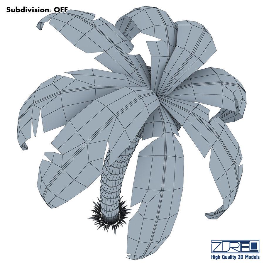 Drzewo palmowe royalty-free 3d model - Preview no. 9