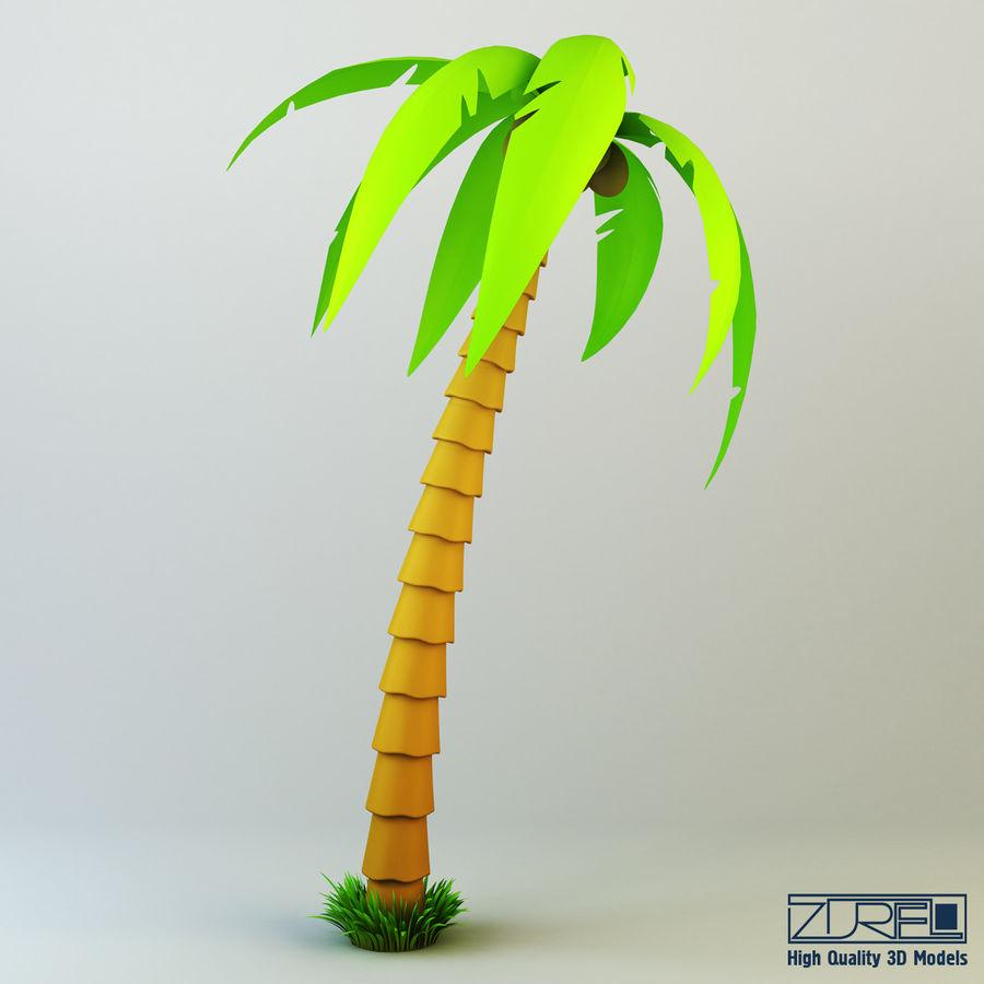 Drzewo palmowe royalty-free 3d model - Preview no. 1