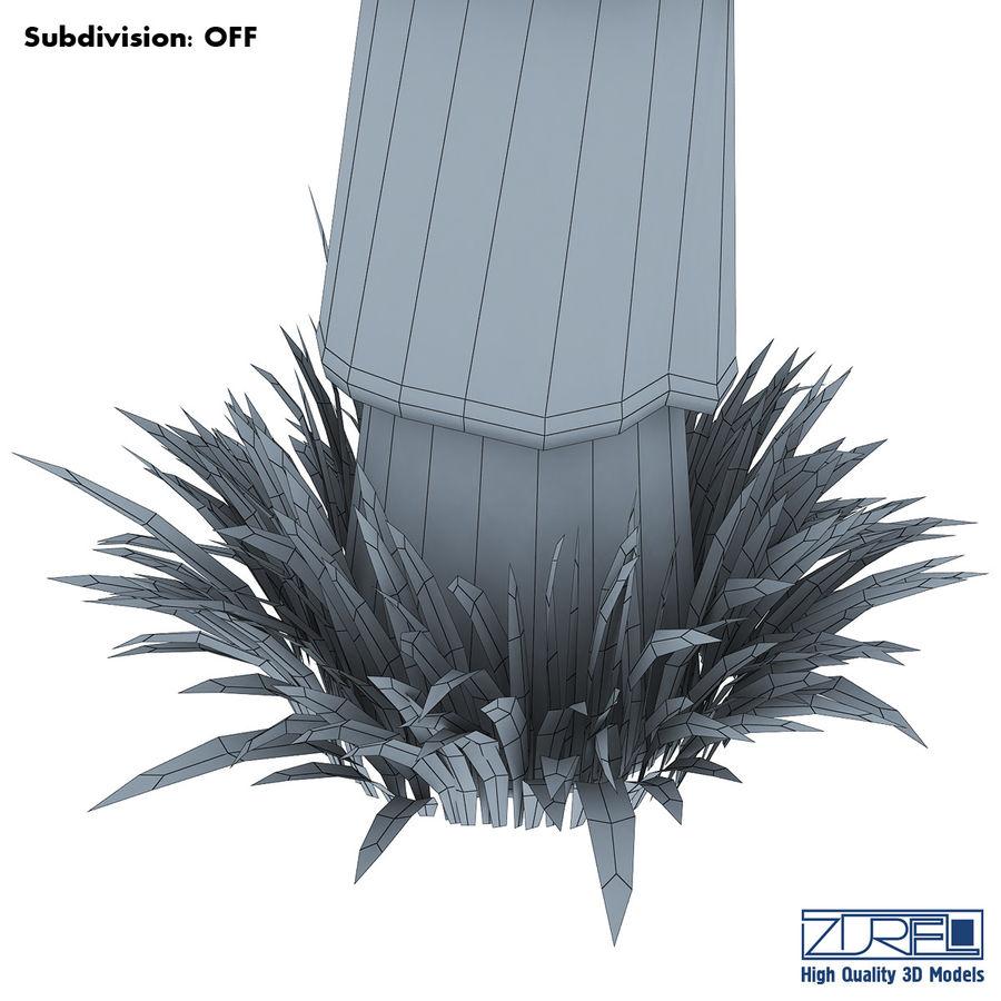 Drzewo palmowe royalty-free 3d model - Preview no. 13
