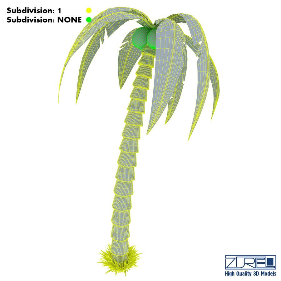 Drzewo palmowe royalty-free 3d model - Preview no. 18