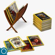 Revistas Nat Geo modelo 3d