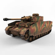 Pz 4H 3d model