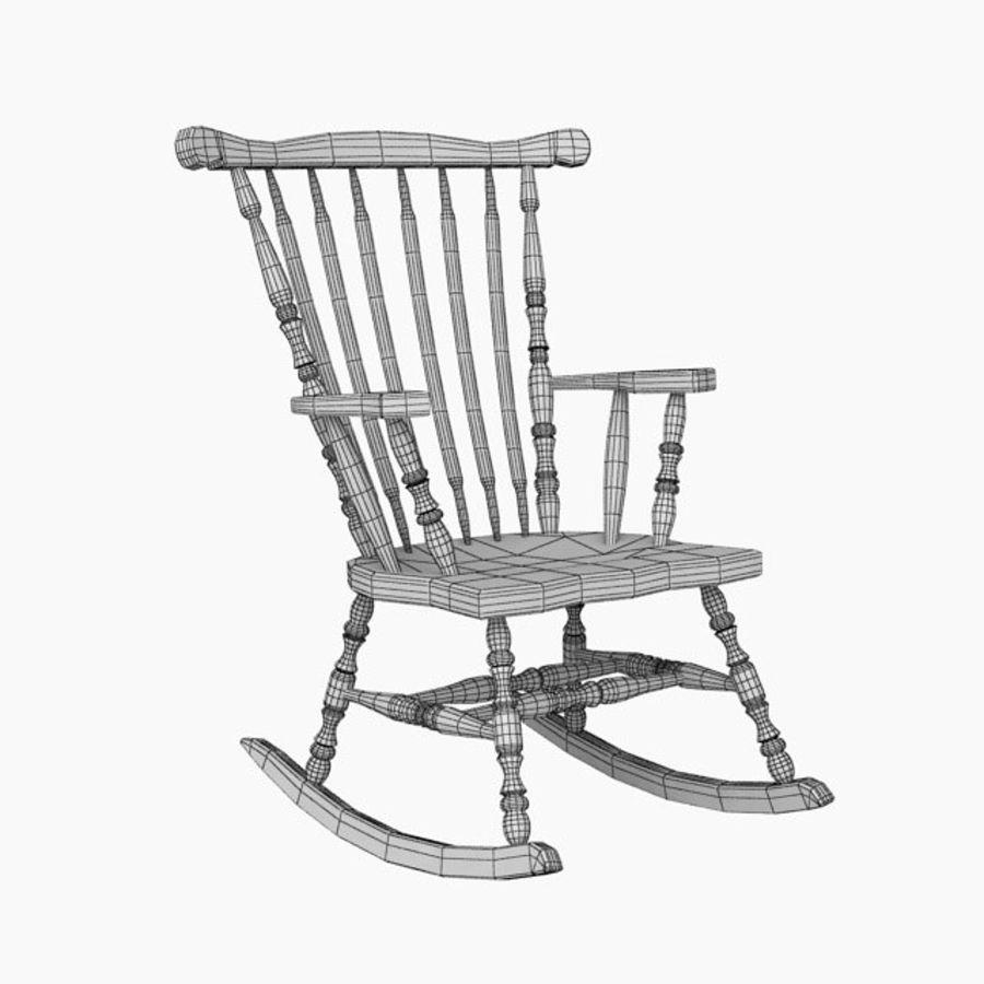 Rocking Chair 3D Model $12 -  max  obj  fbx  3ds - Free3D