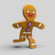 Ginger Cookie 3d model