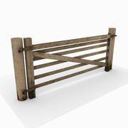Porta di legno 3d model